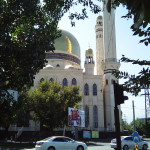 Auch eine Moschee in der Innenstadt darf nicht fehlen