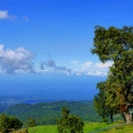 Blick Richtung Ostküste Costa Ricas
